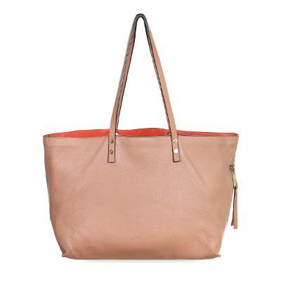 stud detail shoulder bag pink